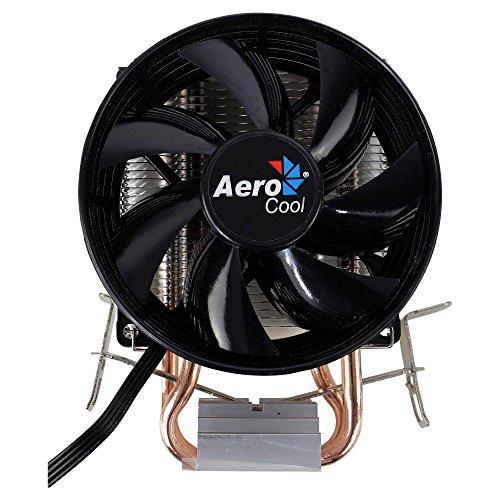 Aerocool VERKHO 2, disipador para PC ventilador 9 mm, HCTT, aletas de aluminio