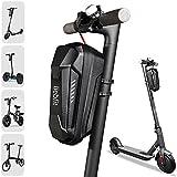 liebfit Bolsa para manillar de scooter con protección contra la lluvia para patinete eléctrico, bicicleta plegable, Xiaomi Sedway Ninebot 3L