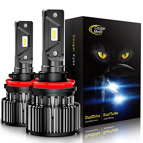Cougar Motor LED Headlight Bulbs All-in-One Conversion Kit | Amazon