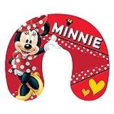 Disney Minnie Mouse pour Enfants Coussin de Cou Oreiller de Voyage, Vacances, Voiture, Minnie Danseuse