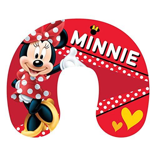Minnie Mouse Nackenkissen für Kinder, mit roten Punkten