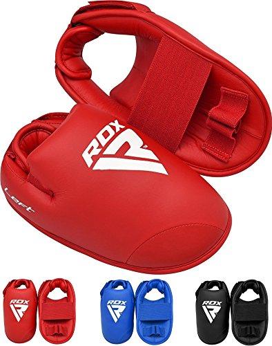 RDX MMA Halb Handschuhe Kontakt Kickboxen Taekwondo Karate Ausbildung TKD (MEHRWEG)
