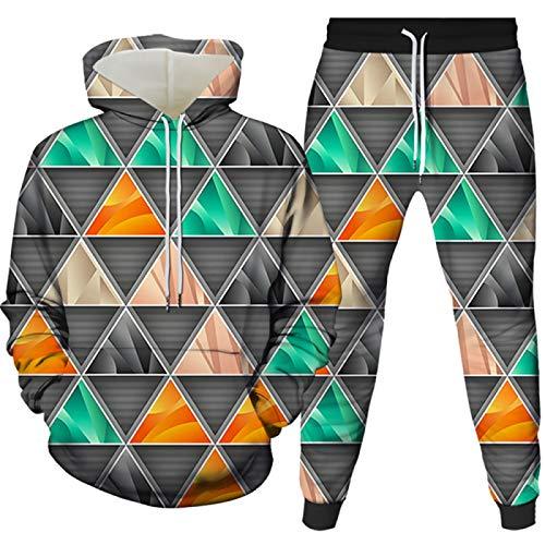 Sudadera con capucha para hombre ropa deportiva pantalones y top con mangas largas