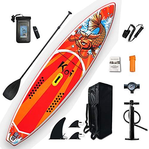 ZJMWQ Adulto Stand Up Paddle Board Principiante Tabla Surf Hinchable Sup Deportes AcuáTicos Instalable Kayak Asiento