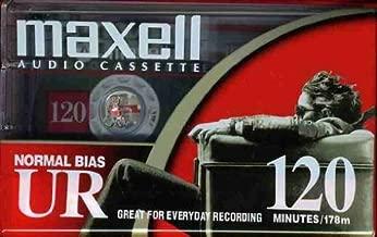 Maxell 108010 UR 120 Minute Normal Bias Audio Tape