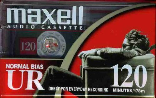 Maxell 108010 UR 120 Minute Normal Bias Audio Tape