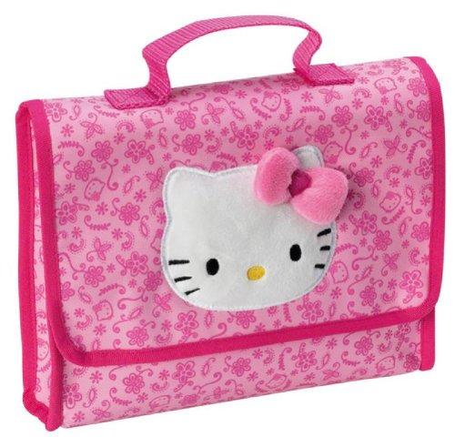 Tas met bloemenmotief, Hello Kitty, 20 cm
