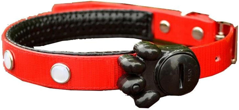 Pet light collar LED the dog S,M,L 3 light modes , f