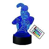 Lámpara de mesa 3D Niños Juguete Regalo Hombre figura acción Araña Color Bombilla Led Lava Noche Luz Mesa para niños Bebé Sueño Halloween Regalo de cumpleaños
