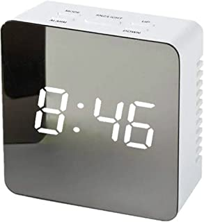 Digital LED Alarm Clock Large Display with Backlight Temperature Date Month Calendar Snooze for Bedrooms Kids Adults Heavy...