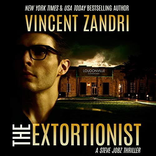 The Extortionist audiobook cover art