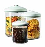 FoodSaver FSC003-I-065 - Set de 3 tarros de envasado al vac�