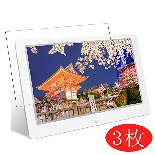 【3 Pack】 Synvy Screen Protector for Tenswall Digital Photo Frame 10.1