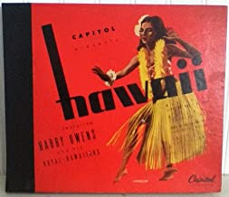 Hawaii Featuring Harry Owens and His Royal Hawaiians - Four Record Set