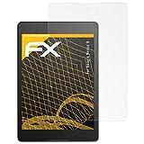 atFolix Panzerfolie kompatibel mit Google Nexus 9 Schutzfolie, entspiegelnde & stoßdämpfende FX Folie (2X)