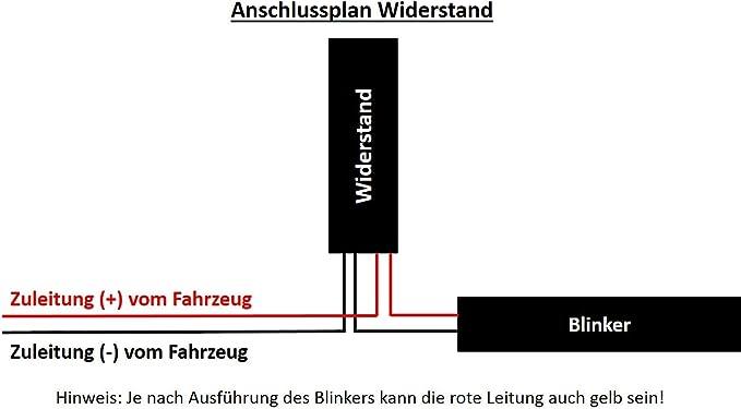 Widerstand Widerstände Für Motorrad Roller Led Blinker 12v Auto