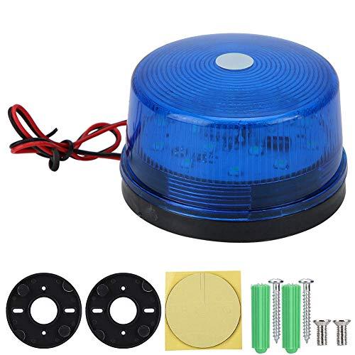Warnleuchte, DC12V 120mA 5W LED Warnleuchte, für Tore(blue)