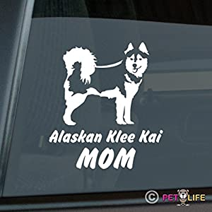 Alaskan Klee Kai Mom Sticker Vinyl Auto Window akk 4