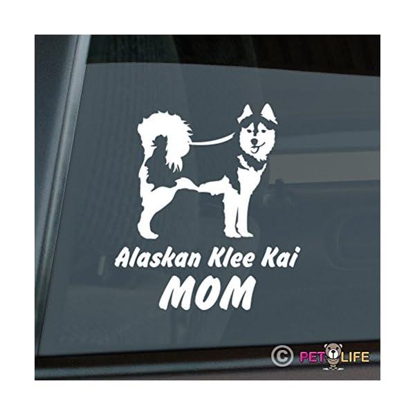 Alaskan Klee Kai Mom Sticker Vinyl Auto Window akk 1