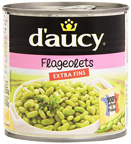 D'Aucy Flageolets Extra Fins 400 g