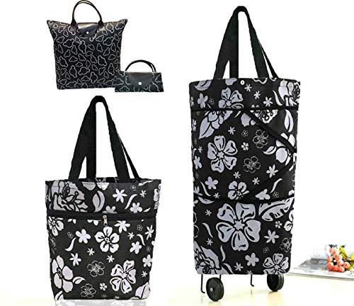 shopping trolley bag on wheels - 2