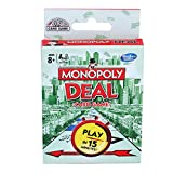 3% off MONOPOLY Deal Card Game for Families and Kids Ages 8 and Up, Fast Gameplay with Cards