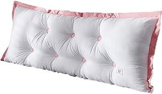 Almohadas de cuña de Lectura Grande, cabecero Triangular, Respaldo de posicionamiento, Soporte para Cama de día, litera extraíble (Color : Blanco, Size : 100 * 20 * 60cm)
