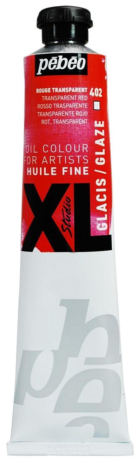 Pebeo Studio Xl Fine Oil 80-Milliliter, Glaze Red