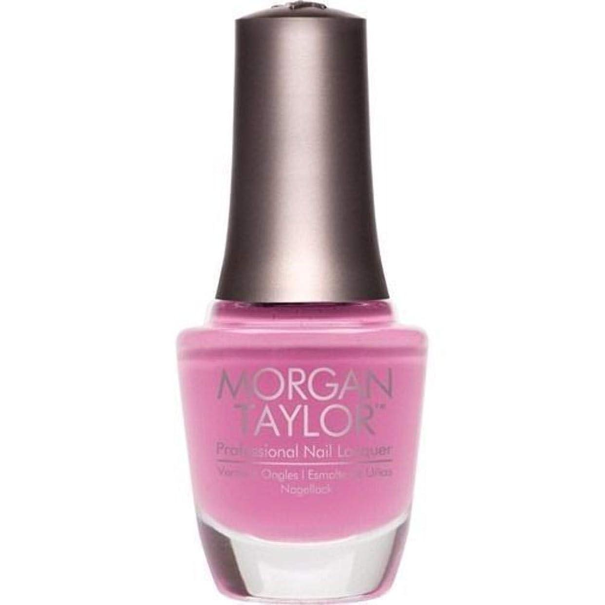なかなかくるくるの間でMorgan Taylor - Professional Nail Lacquer - Look at You, Pink-achu! - 15 mL / 0.5oz