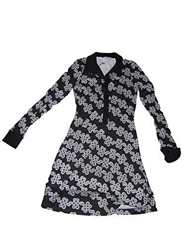 Diane von Furstenberg Love Knot Chains Dress Size 2 Black/Black