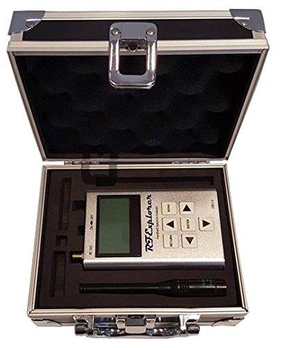 RF Explorer WSUB1G - Analizador de espectro de mano con funda de transporte de aluminio