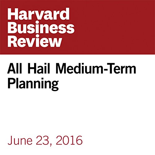 All Hail Medium-Term Planning copertina