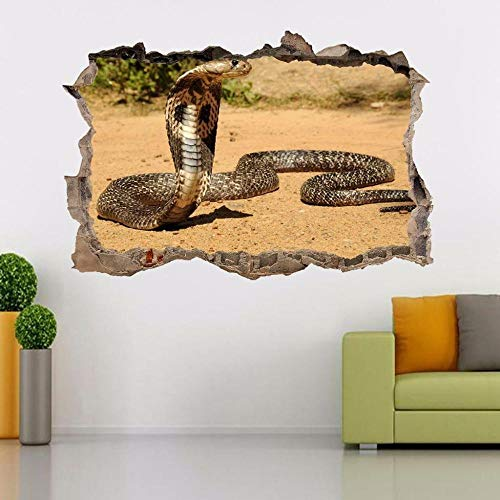 Wandtattoos Wandaufkleber Snake Reptile Smashing Wandtattoo Grafik Aufkleber Kunst Wandbild