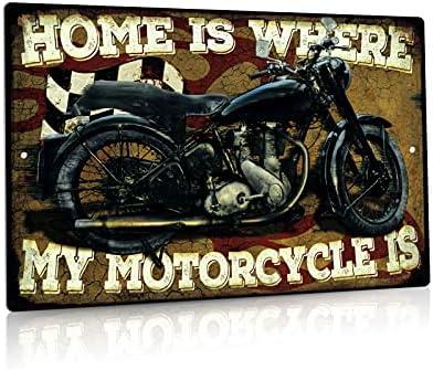 Motorcycle wall decor