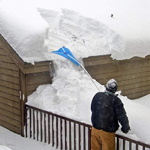 Pala quitanieves Seasons Shop, pala quitanieves, rastrillo telescópico de techo, quitanieves, tejado de tela, para quitar nieve, moderna