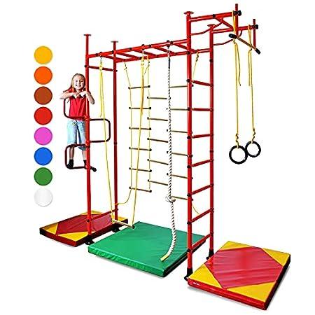 NiroSport FitTop M3 Indoor-Klettergerüst für Kinder