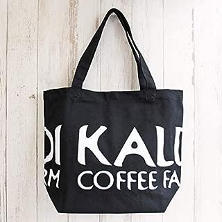 KALDI オリジナル トートバッグ 黒・布製 1p