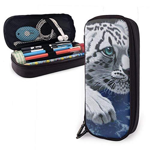 Pencil Pen Bag,Pequeño Tigre En La Caja De Lápiz Del Espacio, Bolsos...