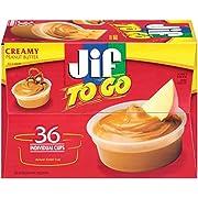 Jif Creamy Peanut Butter, 36 Count
