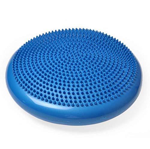 SIX7FIT Cojín ortopédico para asiento, cojín de equilibrio, cojín de aire de equilibrio con botones, cojín de equilibrio para fitness