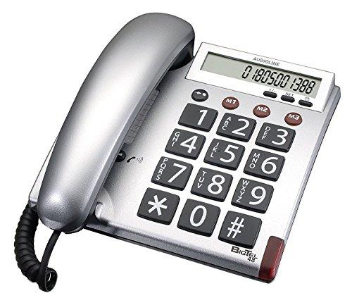 Amplicom BigTel 48 Telefono analogico Grigio