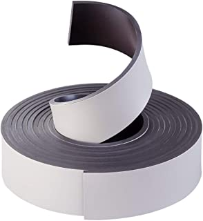 Coredy Boundary Strip, Magnetic Boundary Maker Strip Tape, Compatible with R580-W Robot Vacuum Cleaner, 2m/6.6ft, Black