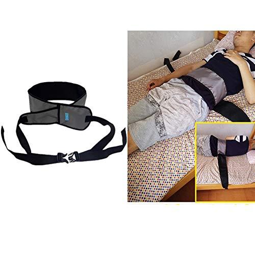 Taillengürtel, Composite Atmungsaktives Mesh-Tuch, Gepolsterte Gürtel Für Rollstuhl Oder Bett,Gray