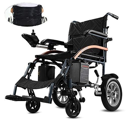 CHAIR Medizinischer Reha-Stuhl, Rollstuhl, elektrischer Rollstuhl, intelligenter leichter leichter Aluminium-Klapprollstuhl Robuste elektrische Rollstühle Vier Runden Behinderte Ältere Bequemer Sofar