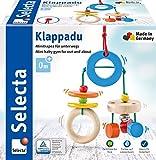 Selecta 61045 Klappadu, Minitrapez und Babyspielzeug, 19 cm -