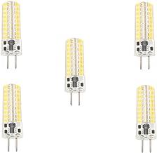 SGJFZD Led Corn Bulbs 5W GY6.35 LED Bi-pin Lights T 72 SMD 2835 320-350 Lm AC12V/AC200-240V 5Pcs ( Color : Warm white-AC20...