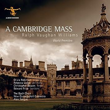 Vaughan Williams: A Cambridge Mass (Live)