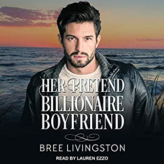 Her Pretend Billionaire Boyfriend audiobook cover art