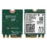 Richer-R Tarjeta Dual Band Bluetooth 5.0,Mini Tarjeta WiFi Wireless,Adaptador de Red Inalámbrico,Tarjeta de Red para PC/Laptops/Reproductor AD/Ranura NGFF M.2.(2.4G + 5G,1.73Gbps)