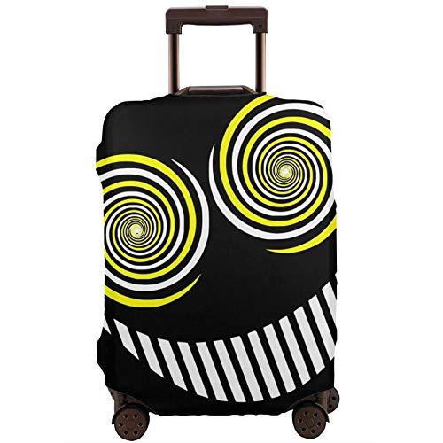 Funda de equipaje de sofá cojines The Smiler maleta de viaje protector de cremallera maleta cubierta lavable moda impresión equipaje cubierta cremallera maleta de viaje protector